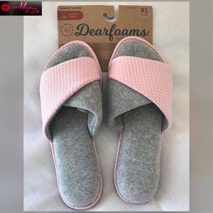 Slip-On Slippers Dearfoams Knit